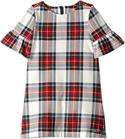 Jolly Plaid Ruffle Dress (Toddler/Little Kids/Big Kids)