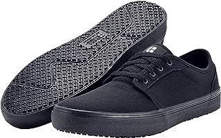 Shoes for Crews Merlin, Unisex Slip Resistant Food Service Work Sneaker