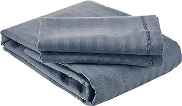 Panache Exports Queen Fitted Bedsheet Set, Grey, 193 cm x 137 cm + 25 cm, PEFITQUE01
