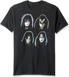 Kiss - - Solo Hombres Heads camiseta