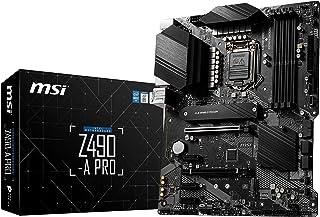 لوحة الأم ام اس اي Z490-A برو برو سيريز ايه تي اكس (الجيل العاشر انتل النواة، LGA 1200 المقبس، DDR4، فتحات M.2 ثنائية، يو ...