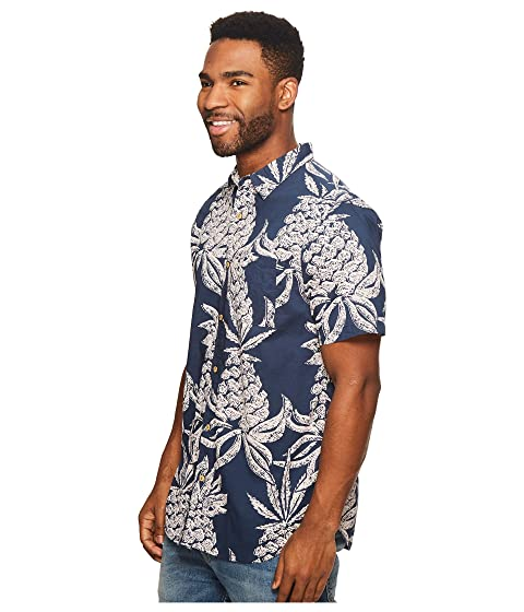 Hineapple Short Shirt Woven Sleeve Roark XqwdvORX