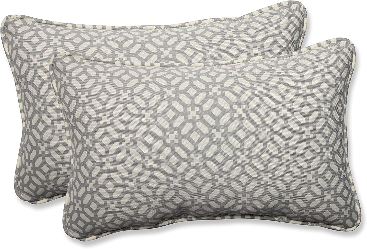 Pillow Perfect Outdoor Indoor in Max 51% OFF Pebble Pillows The Frame Lumbar Spasm price