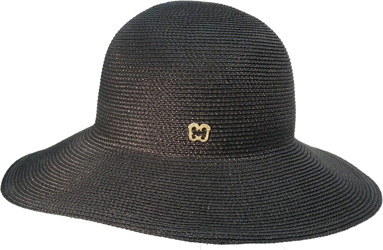 Eric Javits Luxury Fashion Designer Women's Headwear Hat  Squishee IV  Black