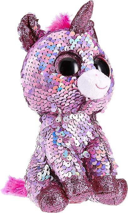 Ty – Flippables – Peluche de Lentejuelas Sparkle la Unicornio: Amazon.es: Juguetes y juegos