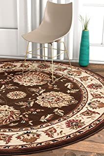 round persian area rugs