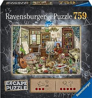 Ravensburger- Escape Puzzle 759 pièces-Atelier d'artiste Adulte, 4005556168439