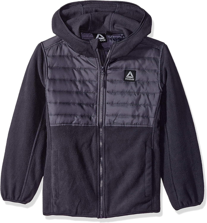Reebok boys Active New products, world's highest quality popular! Hooded Elegant Polar Fleece Jacket