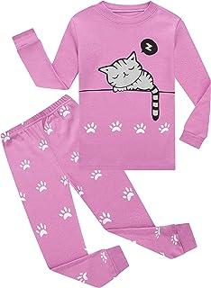 Sponsored Ad - Family Feeling Little Boys Girls Child Pajamas Sets 100% Cotton Toddler Pjs