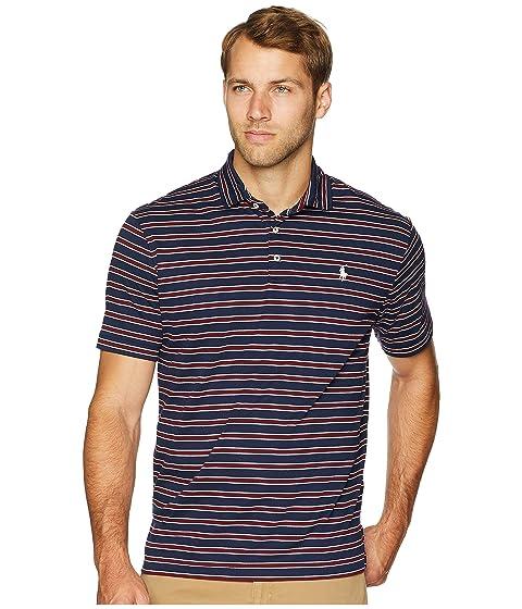 Polo Ralph Lauren Striped Pima Polo Short Sleeve Knit. $89.50