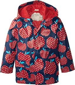 Polka Dot Apples Raincoat (Toddler/Little Kids/Big Kids)
