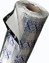 FatMat Self-Adhesive Rattletrap Sound Deadener Bulk Pack with Install Kit - 50 Sq Ft x 80 mil Thick