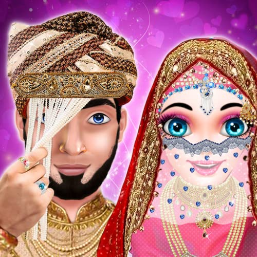 Hijab Girl Wedding - Arrange Marriage Rituals - Hijab Girl Makeup And Dress up Salon - Hijab doll salon For Girls Free Games of Dressup,Makeup,Spa
