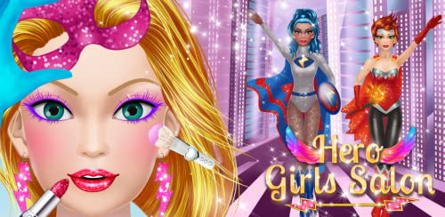 『ヒーロー女の子 きせかえ - 着せ替え & メイク 女の子のゲーム』のトップ画像
