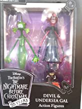 DIAMOND SELECT TOYS Disney Nightmare Before Christmas Devil Undersea Gal Action Figures 25th Anniversary Collectable