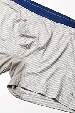 Solid Navy/Grey Stripe