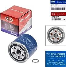 Genuine OEM For Hyundai/Kia Oil Filter 26300-35504 and Plug Gasket 21513-23001