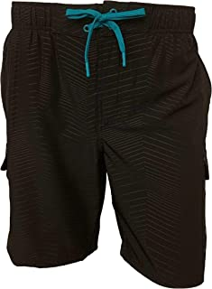 Mens Axed 4 Way Stretch Board Short Swim Trunk Swimwear