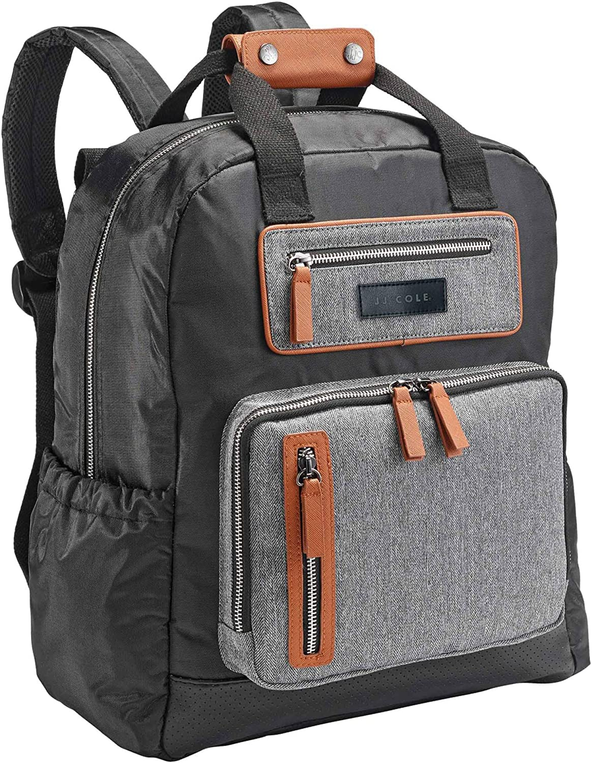 ventas calientes JJ JJ JJ Cole Infant Baby Papago Pack Men's Diaper Bag Backpack Herringbone Tweed  gran venta