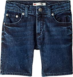 Levi's® Kids - 511 Slim Fit Performance Denim Shorts (Little Kids)