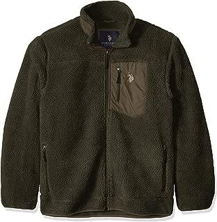 U.S. Polo Assn. Men's Faux Sherpa Jacket