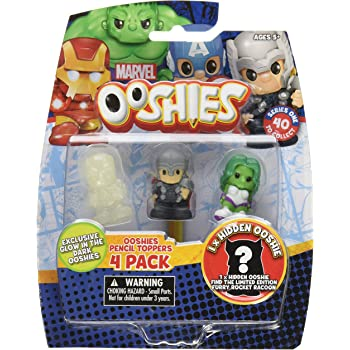 Jakks 41153 7 Pack Ooshies Set 1 DC Comics Series 1 Action Figure