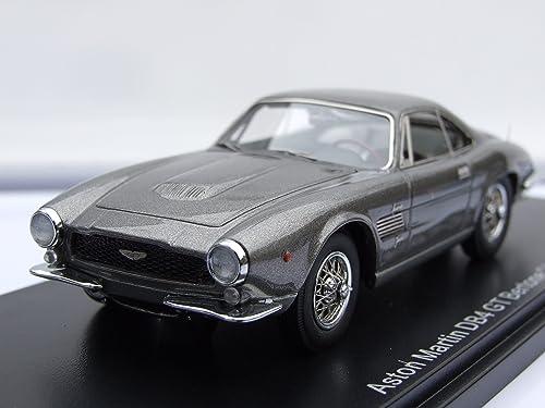 Aston Martin DB4 GT Bertone Jet, metallic-grau, 1961, Model Car, Ready-made, Neo 1 43 by Aston Martin