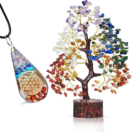 Long Multicolore Necklace Meaningful Gift for Her Chakra Necklace Spiritual Jewelry Zen Necklace Friend/'s Gift Flower Spiritual Gift