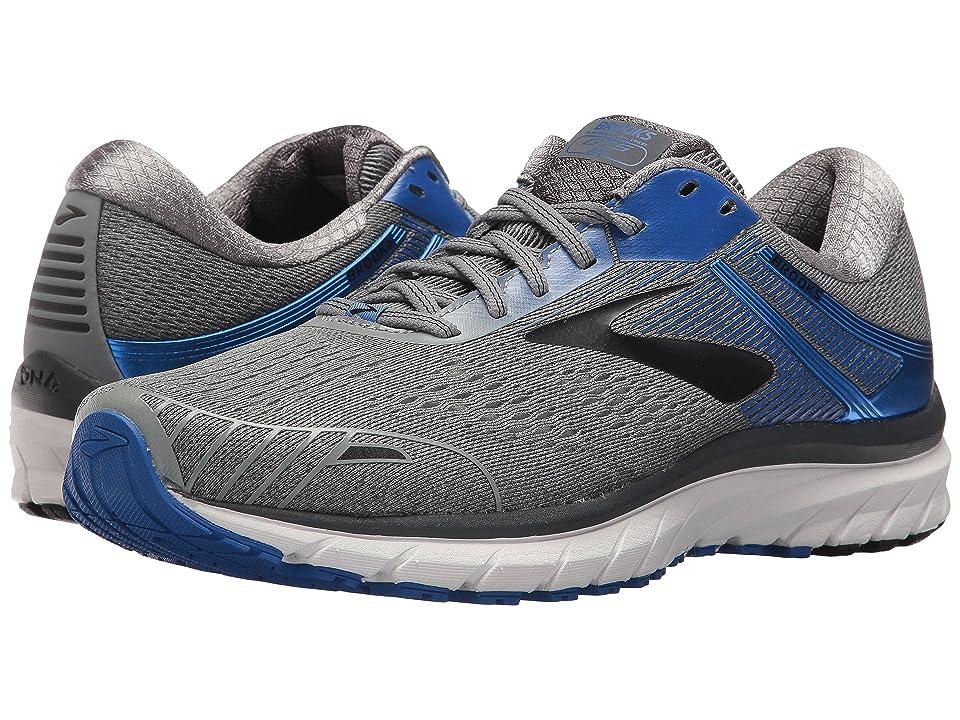 Brooks Adrenaline GTS 18 (Grey/Blue/Black) Men