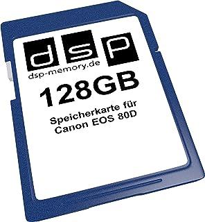 DSP Memory 128GB Speicherkarte für Canon EOS 80D