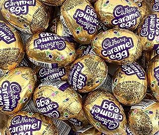 CADBURY Caramel Egg Candy, Milk Chocolate - Egg Filled with Creamy Caramel, 1.2 Ounce Egg (Pack of 48)