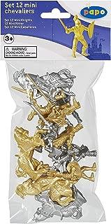 Papo - 33024 - Figurine - Mini Chevalier - 12 Pièces