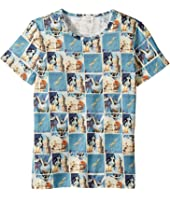 Paul Smith Junior - Short Sleeves Space Tee Shirt (Big Kids)