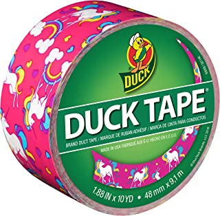 Duck 284567 Brand Duct Tape, Single Roll, Unicorn