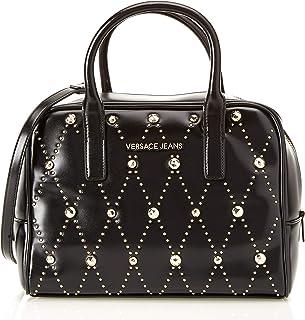 86813b873 Versace Jeans - Ee1vsbbe5, Shoppers y bolsos de hombro Mujer, Negro (Nero)