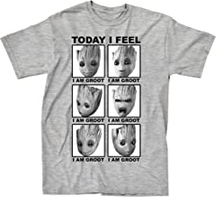 Marvel Guardians of The Galaxy 2 Face of Groot I Feel T-Shirt