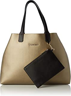 Tommy Hilfiger Donna Borsa Shopper TH Corporate Blu MOD AW0AW07692
