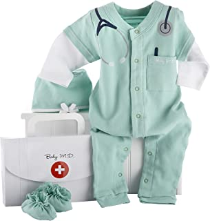 Baby 2 Piece Layette Set 0-3 Months Hat and Socks green sprouts by i play