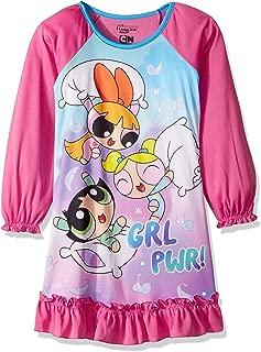 Powerpuff Girls Girls' Pillow Fight Jersey Nightgown