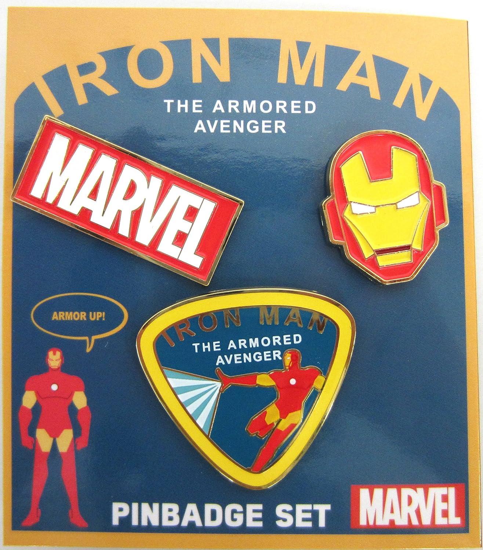 lo último Iron Iron Iron Man [Pin Badge] Pins 3 pieces  tienda hace compras y ventas