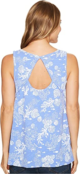 Fresh Produce - White Sands Crossback Tank Top
