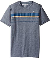 Billabong Kids - Lo Tide Spinner LF Short Sleeve Wetshirt (Toddler/Little Kids/Big Kids)