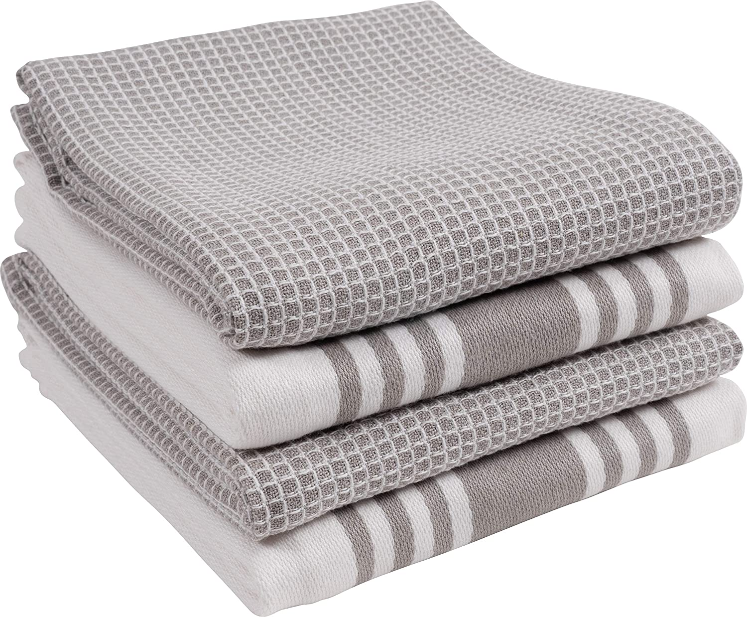KAF Home Kitchen Towels Set of Max 41% OFF and Soft To 4 Durable Shipping included Absorbent