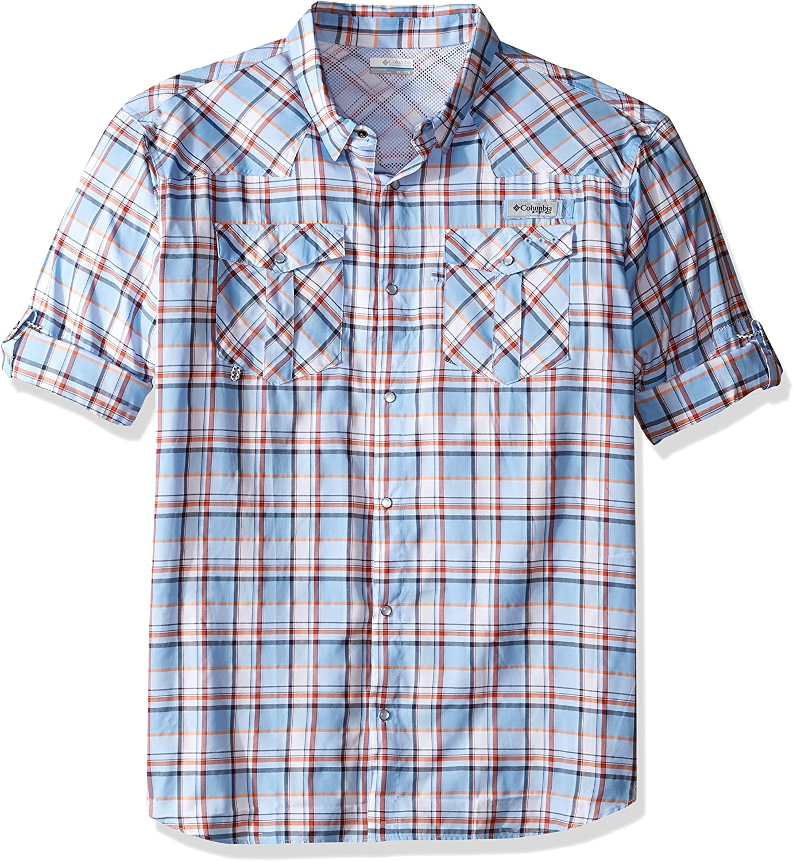 Columbia Sportswear Men's Beadhead Long Sleeve Shirt, Sail Check, XLarge