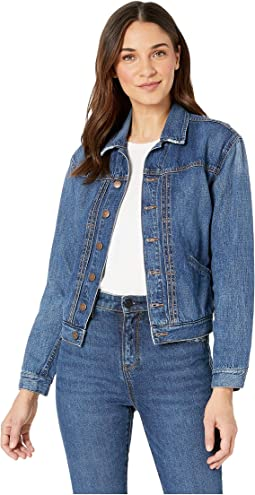 Patch Pocket Oversized Denim Jacket
