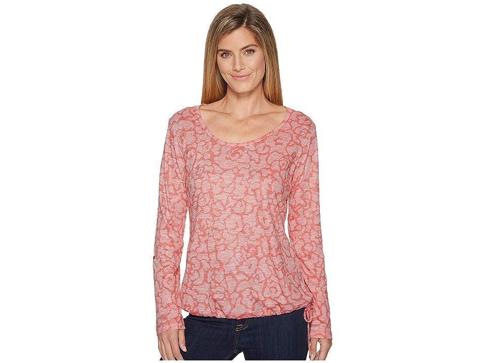 Columbia Kickin It Pullover (Blush Pink Print) Women