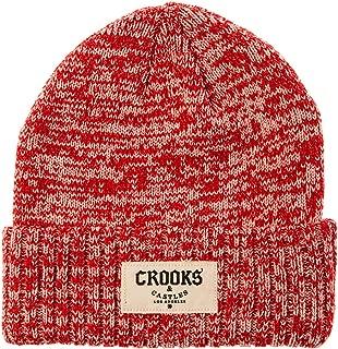 Crooks & Castles Men's Knit Beanie Hat-Origin