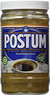 Postum Wheat Bran & Molasses Coffee Alternative (8oz) | Caffeine Free Instant Coffee..