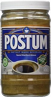 Postum Wheat Bran & Molasses Coffee Alternative (8oz) | Caffeine Free Instant Coffee Substitute | Natural Blend, Rich, Tas...