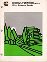 Cummins Automotive Diesel Engines, Operation and Maintenance Manual, United States and Canada